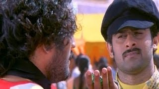 Pournami Scenes - Baahubali Prabhas Hilarious Comedy Fight Scene - Charmi