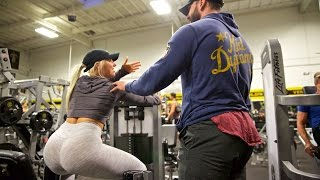 HITTING ON GIRLS AT GOLDS GYM THE MECCA