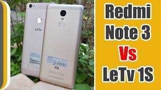 Xiaomi Redmi Note 3 vs Letv Le 1S mobile Lets see who wins ?