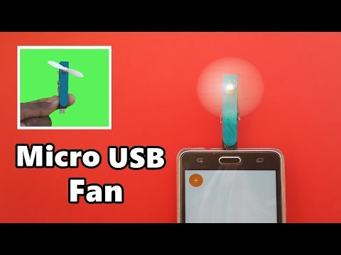 Xxx Mp4 How To Make A Powerful Micro USB Fan For Mobile Phone DIY 3gp Sex