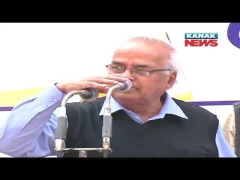 Fathet of BJD MLA Akash Das Nayak Supports TMC s Protest In Bhubaneswar