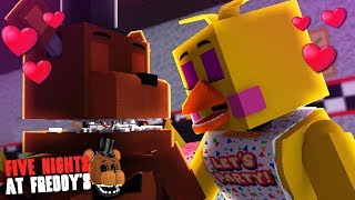 Minecraft: FIVE NIGHTS AT FREDDY'S #123 - FREDDY BEIJOU A CHICA!!