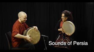 Sound of Persia - Percussion Duet - Naghmeh Farahmand and David Kuckhermann