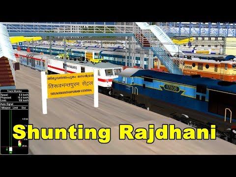 Xxx Mp4 A Busy Day In Thiruvananthapuram Central Trivandrum Shunting Train IR In MSTS Open Rail 3gp Sex