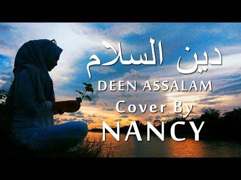 Deen Assalam دين السلام - Sulaiman Al Mughni | Video Lyric | Covered By NancyDAUN
