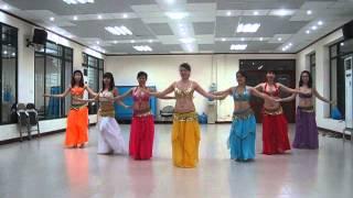 belly dance beginners NARI NARIEN - bài biểu diễn của công ty VNPT