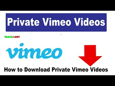 Private Vimeo Videos Free Download Full HD MP4 √