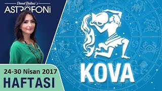 Kova Burcu Haftalık Astroloji Yorumu 24-30 Nisan 2017