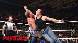 Dean Ambrose vs. Chris Jericho: WWE Payback 2016 auf WWE Network