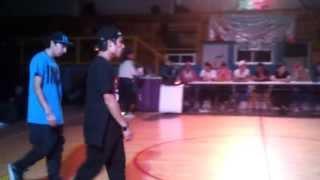 Festival Todos Unidos Iquique Hip-Hop Freestyle Michael-Luis VS Cynthia-Phairu