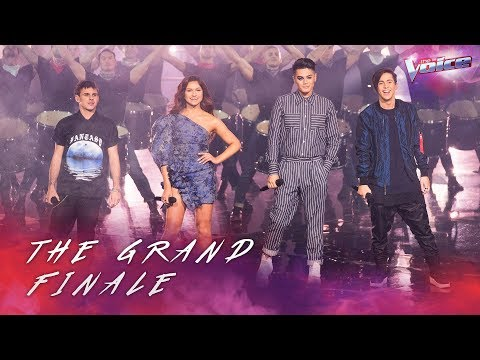 Grand Finale: Top 4 sing This Is Me | The Voice Australia 2018