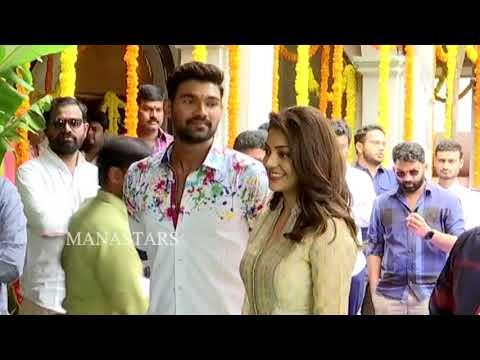 Xxx Mp4 Bellamkonda Sreenivas And Kajal New Movie Opening Video Manastars 3gp Sex