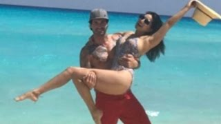 Sunny Leone Hot Bikini Avtar With Husband Daniel Weber Sets The Beach on Fire