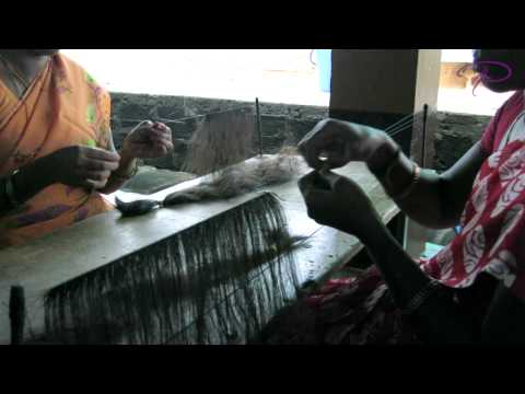 How Hand Tied Indian Hair Weaves Are Made