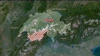 Dozens of children die in a bus crash in Switzerland