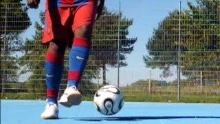 ★MUITO BOM ! O TRUQUE DE FUTEBOL DO FC BARCELONE★║►ARTE TUTORIAIS DRIBLA FINTAS FUTSAL
