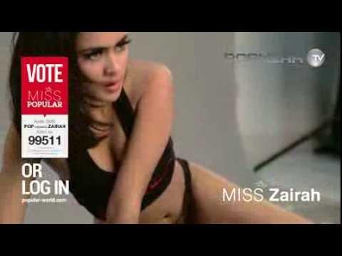 Miss POPULAR 2015: Runway Angel - Putri ZAIRAH | The 'Exotic'