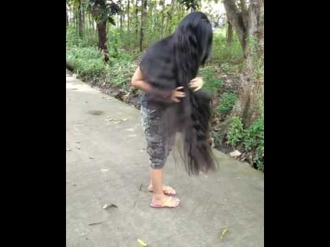 Rambut panjang Indonesia titin