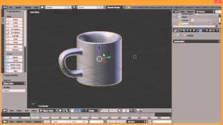 [ K - TUTORIAL ] Basic Blender 3D - Buat Gelas cuma 5 menit aja!!