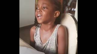 Timi Dakolo's Daughter Sings, and her Voice is Heavenly