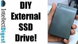 DIY External SSD Drive- Make A Super Fast Portable SSD Drive Under $100