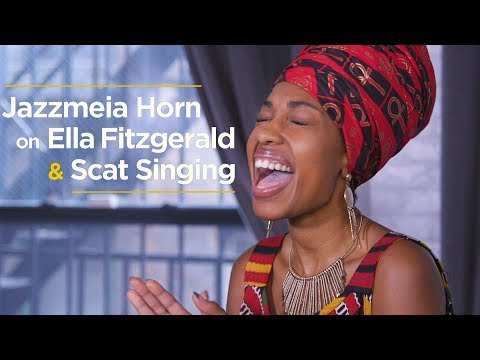 Ella Fitzgerald s Signature Singing Style Explained By Jazzmeia Horn