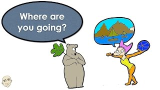 Where Are You Going? | A Story Book | Easy English Conversation Practice | ESL