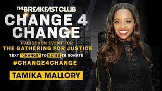 Tamika Mallory Calls In To Express Her Gratitude, Mysonne Brings Bars To #Change4Change