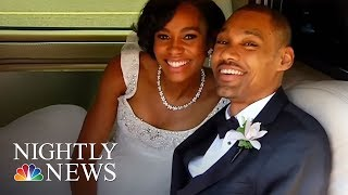 Partially Paralyzed Former Olympic High Jumper Walks Wife Down Aisle   NBC Nightly News