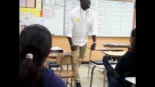 Demetrius G...speaks