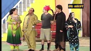Best Of Agha Majid and Amanat Chan New Stage Drama Comedy Clip