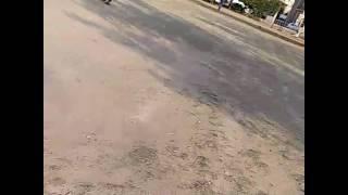 Shahrukh bowling in ground