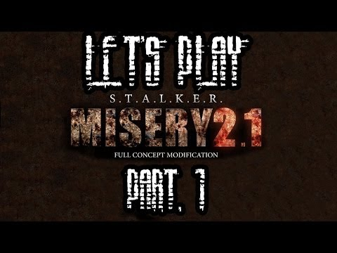 Let's Play S.T.A.L.K.E.R. Call of Pripyat [Misery 2.1, Sniper], Part 1