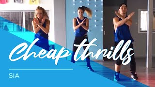 Sia - Cheap Thrills - Fitness Choreo - HipNThigh Dance - Legs - Booty -Excercise