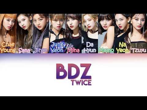 "TWICE (트와이스) - ""BDZ""   Color Coded Lyrics (JAPKANPT-BR)"