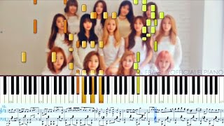 ☄ WJSN 우주소녀 - Secret 비밀이야 (Advanced Piano Solo)