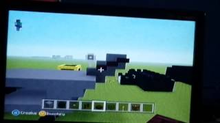 How to build a stealth helicopter on minecraft