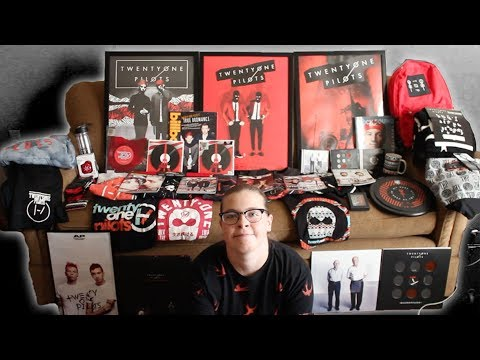 MY TWENTY ONE PILOTS MERCH COLLECTION (+ unboxing)
