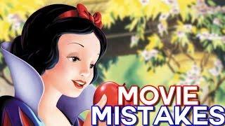 DISNEY SNOW WHITE Movie MISTAKES You Didn't Notice   Snow White Goofs