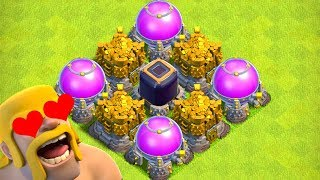 GOLD LEAGUE AWESOME!?  TH10 Farm to Max | Clash of Clans