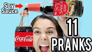 FUNNY PARENT PRANKS! TOP 11 FOR FRIENDS & FAMILY! NataliesOutlet