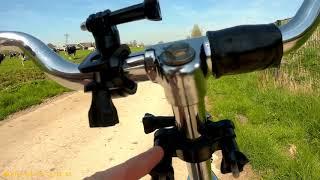 Testing: Old vs New Handlebar Camera Mount by Dutch Bike Blogger 19-04-18