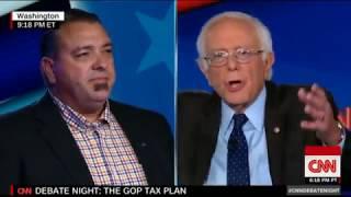 Bernie Short Circuits A Republican Voter