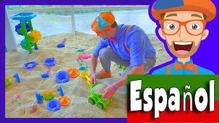 Blippi Español Aprende en El Museo   Videos para Preescolares   Parque de Juegos