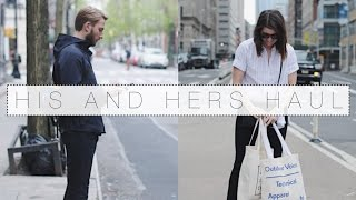 The 'His and Hers Haul' with Mark   The Anna Edit
