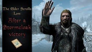 Stormcloak Victory & The Future of Skyrim - The Elder Scrolls Lore