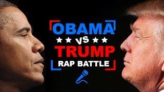 Donald Trump vs. Barack Obama | RAP BATTLE!
