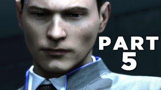 DETROIT BECOME HUMAN Walkthrough Gameplay Part 5 - INTERROGATION (PS4 Pro)