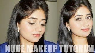 Nude Makeup | Easy Everyday Makeup Tutorial | Indian Skin | corallista