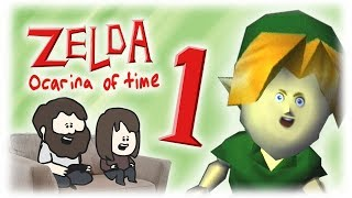 Animated Let's play Zelda - Part 1 : THAS FIBE RUPEE!